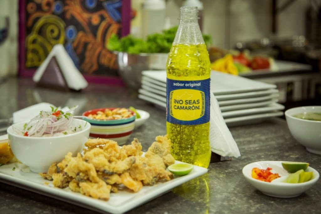Inca Kola and Peruvian Food