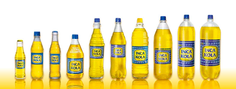 Inca Kola different presentations