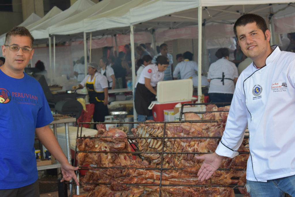 As you see chancho al palo is amazing - taste of peru